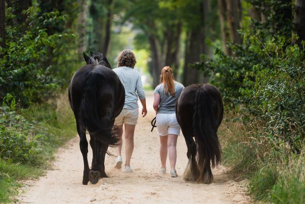 Paarden, paarden meisjes, shoot met paarden, liefde voor paarden, moeder en dochter